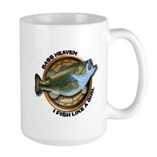 Large I Fish Like A Girl Mug