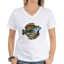 Women's V-Neck I Fish Like A Girl T-Shirt