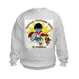 Captain Thunder Bolt & Drizzle Sweatshirt
