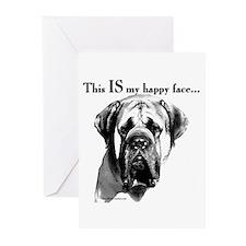 Mastiff 137 Greeting Cards (Pk of 10)