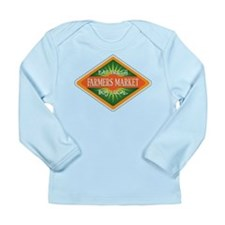 Eat Fresh Farmers Market Long Sleeve Infant T-Shir