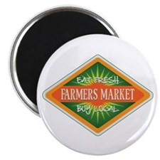 Eat Fresh Farmers Market Magnet