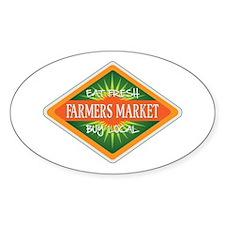 Eat Fresh Farmers Market Decal