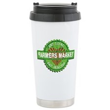 Farmers Market Heart Ceramic Travel Mug