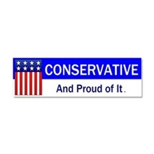 Conservative Slogan Car Magnet 10 x 3