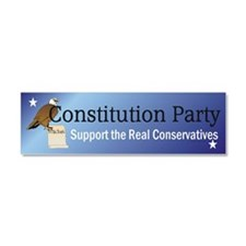 Constitution Party Teepossible.c Car Magnet 10 x 3