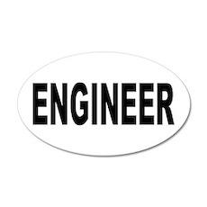 Engineer 22x14 Oval Wall Peel