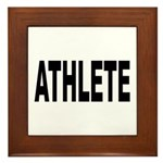 Athlete Framed Tile