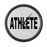 Athlete Large Wall Clock