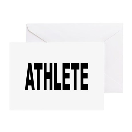 Athlete Greeting Cards (Pk of 10)