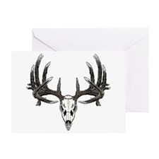 Big whitetail buck Greeting Card
