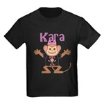 Little Monkey Kara Kids Dark T-Shirt