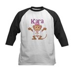 Little Monkey Kara Kids Baseball Jersey