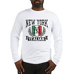 New York Italian Long Sleeve T-Shirt