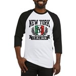New York Italian Baseball Jersey