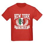 New York Italian Kids Dark T-Shirt