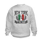 New York Italian Kids Sweatshirt