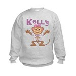 Little Monkey Kelly Kids Sweatshirt