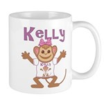 Little Monkey Kelly Mug