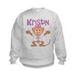 Little Monkey Kristin Kids Sweatshirt