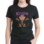 Little Monkey Kristin Women's Dark T-Shirt