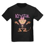 Little Monkey Krystal Kids Dark T-Shirt