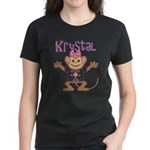 Little Monkey Krystal Women's Dark T-Shirt