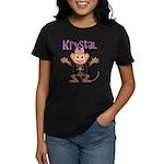 Little Monkey Krystal Women's Dark T-Shirt