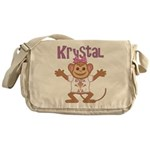 Little Monkey Krystal Messenger Bag