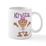 Little Monkey Krystal Mug