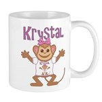 Little Monkey Krystal Mug