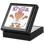 Little Monkey Krystal Keepsake Box