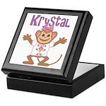 Little Monkey Krystal Keepsake Box