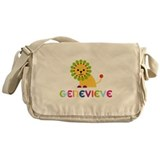 Genevieve the Lion Messenger Bag