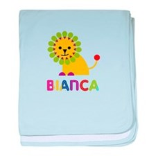 Bianca the Lion baby blanket