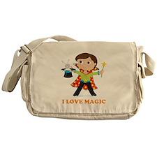 Boy Magician Messenger Bag