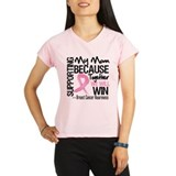 Support Mom Breast Cancer Performance Dry T-Shirt
