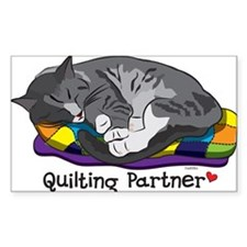 Quilting Partner Stickers
