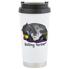 Quilting Partner Ceramic Travel Mug