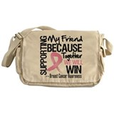 Support Friend Breast Cancer Messenger Bag