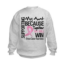 Support Aunt Breast Cancer Jumpers