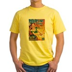 Science Fiction Woman Cover Yellow T-Shirt