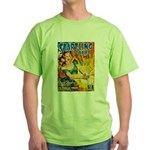 Science Fiction Woman Cover Green T-Shirt