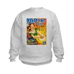 Science Fiction Woman Cover Kids Sweatshirt