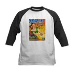 Science Fiction Woman Cover Kids Baseball Jersey