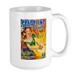 Science Fiction Woman Cover Large Mug