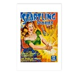 Science Fiction Woman Cover Postcards (Package of