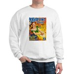 Science Fiction Woman Cover Sweatshirt