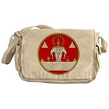 Lao Royal Coat of Arms Messenger Bag