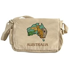 Australia Messenger Bag